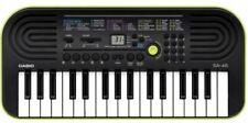 Casio SA-46 Mini Tastiera Elettronica 32 Tasti - Nero/Verde
