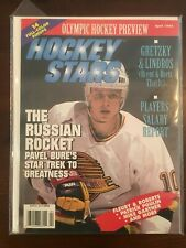 Hockey Stars Magazine April 1994 (Pavel Bure on cover) Vancouver Canucks HOF