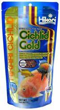 Hikari Cichlid Gold Color Enhancing Sinking Fish Food - Medium Pellet 12 oz