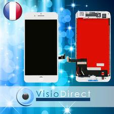 Ecran complet pour iPhone 8 blanc vitre tactile + ecran LCD sur chassis
