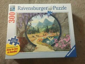 RAVENSBURGER PUZZLE- INTO A NEW WORLD- 300 PIECES- NEW- 2019