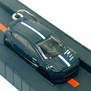 Hot Wheels Nightburnerz Gray Ford Focus RS 1:64 Diecast Keychain Gift FYF84-D7C3