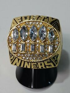 1994 San Francisco 49ers Super Bowl Ring Young