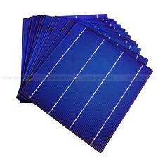 40pcs 6x6 Whole Solar Cells High Efficiency 4.3W Each Cell DIY 160W Solar Panel