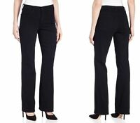 Not Your Daughters Jeans Barbara Bootcut Black NYDJ Women's Size 10 Long HW8518