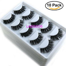 Wholesale 3D Mink False Eyelashes Natural Wispy Fake Eye Lashes  50 Pairs K01