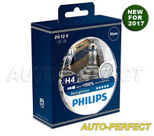 Philips Racing Vision up to 150% Brighter H4 9003 60/55W Halogen Bulbs