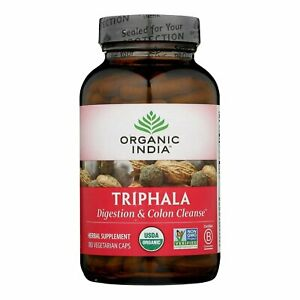 Organic India Triphala Digestion & Colon Cleanse - 180 Ct (4 Pack)
