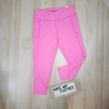 Victoria's Secret Sport Leggings Medium Pink Knockout Tight 7/8 Ankle Active NWT