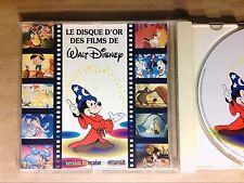 CD / LE DISQUE D'OR DES FILMS DE DISNEY - VERSION FRANCAISE / BON ETAT