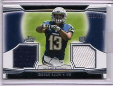 2013 Topps Prime Keenan Allen Rookie Dual Jersey /165 Chargers WR