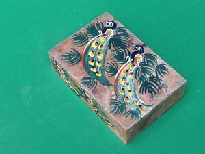 Marble Jewelry Box Stone Hand painted Handicraft Home Decor art craft for gifts