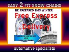 ARCTIC POLAR CAR 12mm SNOW CHAINS FOR TYRE SIZE 175 / 65 R13 WITH FREE CASE SC40