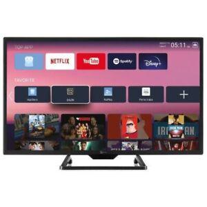 """TeleSystem Smart 24 SL12V TV 24"""" LED HD Android 9 DVB-T2 S2 Doppia Alimentazione"""