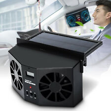 Solar Powered Car Window Fan Auto Ventilator Cooler Air Vent Ventilation System