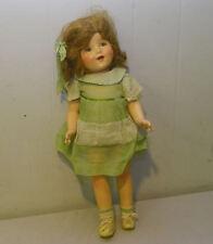 Composition Antique Walker Doll with Original Clothes