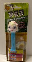 Easter Lamb Pez Dispenser On Original Card Easter Hippity Hoppities w/Feet 2004