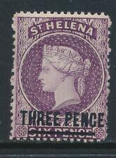 ST HELENA,  1884 3d deep mauve wmk single CA superb MM, SG41, cat £7.5