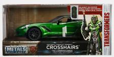 98499 1:24 Jada Toys Transformers 5 2016 Crosshairs Corvette Green Transformers