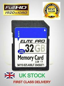 32GB SD card SDHC memory for Nintendo Wii 2DS 3DS class10 U3 UHS3 for camera New