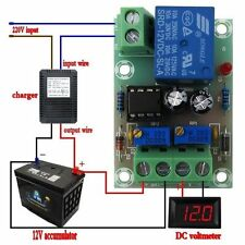 Dc 12V Smart Storage Battery Charger Power Relay Control Board