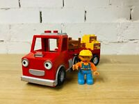 LEGO Duplo Bob the Builder Packer 3288 Yellow Brick Red Truck Construction