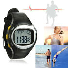 Sport Fitness Pulse Heart Rate Monitor Calories Counter Wrist Watch Black New