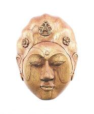 Tallado A Mano balinés Máscara Caja de chucherías, 16,5 x12cm....... Joyero