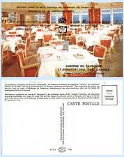 Interior Auberge du Faubourg Hotel Resort St Jean Port Quebec Canada  Postcard