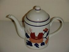Fitz & Floyd China Mandarin Garden Pattern 4 Cup Coffee Pot and Lid