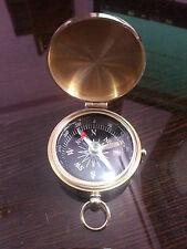 Nautical Compass Vintage Royal Flat Directional compass Collectible Compass.