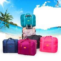 Foldable Travel Storage Luggage Carry-on Organizer Hand Shoulder Duffle Bag L