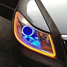 60CM LED White Car DRL DayTime Running Strip Light Flexible Soft Tube Lamp