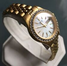 Ladies Genuine Citizen Gold Day-datejust Jubilee Crystals Mop Designer Watch