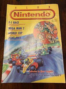 Club Nintendo 1991 F1 Race Mega Man 2