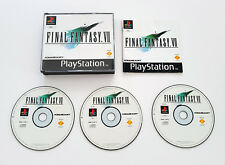 PlayStation 1 PS1 Final Fantasy 7 VII Original Black Label Complete Boxed Manual