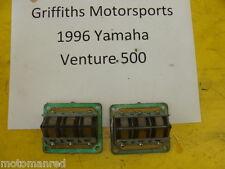 91 92 93 YAMAHA Venture XL VT480XL 88T OEM intake reeds reed blocks cages valves