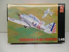 HOBBYCRAFT MODEL AIRPLANE KIT Seversky P-35 Fighter 1:48 Scale E363 PM