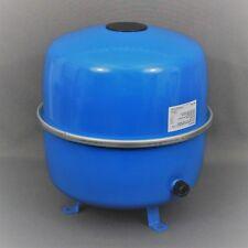 BUDERUS Logafix Ausdehnungsgefäß für Heizung MAG 35 Liter blau + Bohrschablone