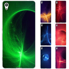 Dessana Light Effects TPU Silicone Protective Case Pouch Cover For sony