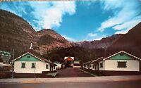 "Ouray CO   ""The Alpine Motel""   Postcard Colorado  * FREE US SHIPPING"