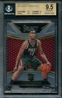 2014-15 select #293 JABARY PARKER bucks rookie card BGS 9.5 (9.5 9.5 9.5 9)