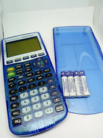 Texas Instruments TI-83 Plus FR FRENCH Graphing Programmable Calculator BLUE