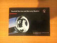 Vauxhall CORSA D & E Service Book New Blank Genuine OEM+ VXR SRI CDTI PETROL
