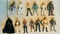 1996 Hasbro Star Wars  Action Figures Variety Lot of 13 3.75''