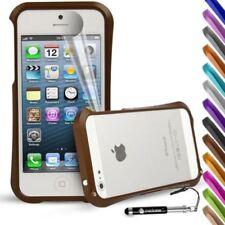 Étuis, housses et coques etuis, pochettes marrons pour téléphone mobile et assistant personnel (PDA) à motifs