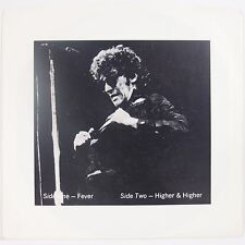 "BRUCE SPRINGSTEEN: Fever / Higher BLUE WAX Marble 7"" rare NON TMOQ 33rpm NM-"