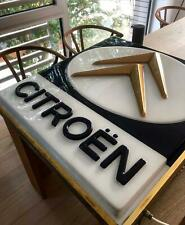 Rare Vintage Citroen Dealership (late 1960's - early 70's) Restored Light Box.