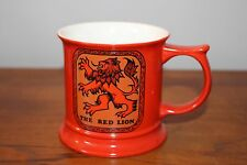 "Vintage Carlton Ware Red Fine China Mug or Stein made in England ""The Red Lion"""