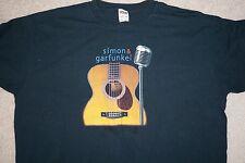 Simon & Garfunkel 2003 old friends Concert Tour tee tshirt XL